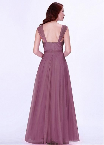 Marvelous V-neck Neckline A-line Bridesmaid Dresses