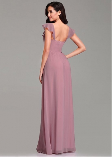 Stunning Scoop Neckline Sheath/Column Bridesmaid Dresses