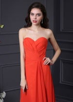 Gorgeous Chiffon Sweetheart Neckline A-Line Prom Dresses