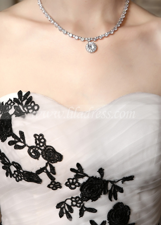 Marvelous Tulle Sweetheart Neckline Mermaid Wedding Dresses with Lace Appliques