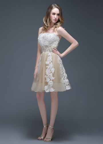 Wonderful Tulle Sweetheart Neckline Short A-line Homecoming Dresses