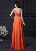 Chic Chiffon Sweetheart Neckline A-Line Prom Dresses