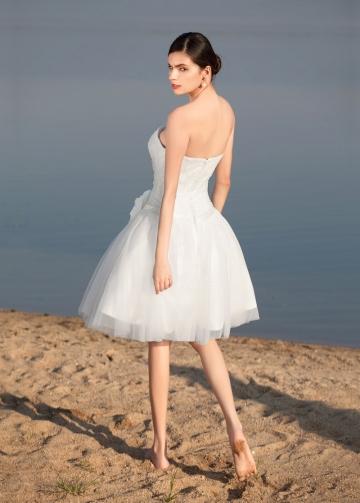 Sweet Tulle Sweetheart Neckline Short A-line Wedding Dresses