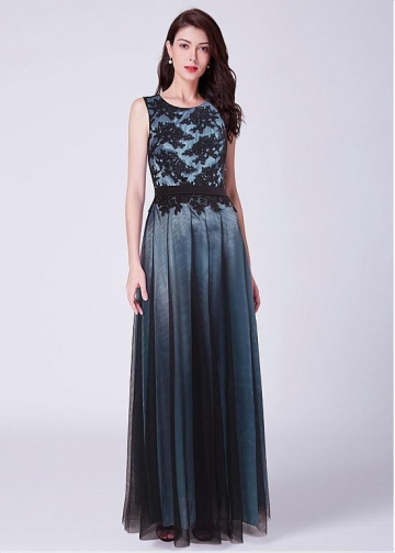 Stunning Jewel Neckline A-line Evening Dresses
