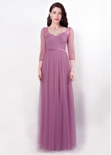 Glamorous Sweetheart Neckline A-line Evening Dresses