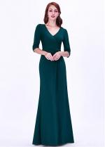 Stunning V-neck Neckline Sheath/Column Evening Dresses