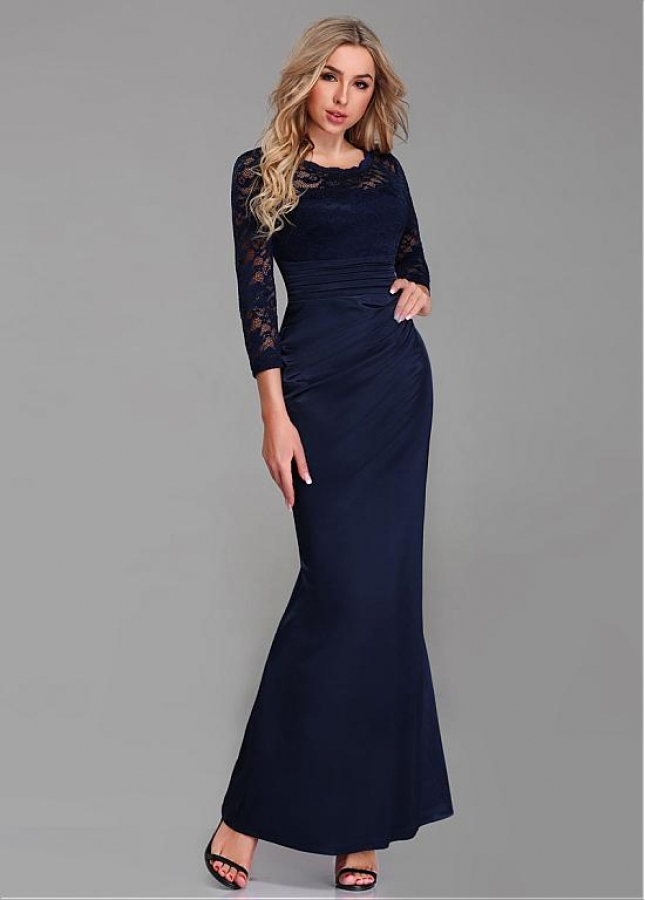 Fabulous Jewel Neckline Sheath/Column Mother Of The Bride Dresses