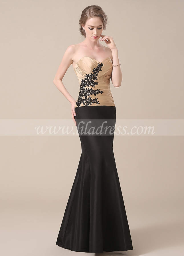 Chic Taffeta Sweetheart Neckline Mermaid Mother of The Bride Dresses