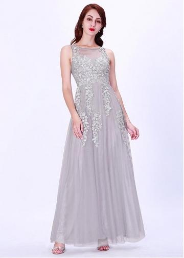 Fabulous Bateau Neckline A-line Evening Dresses