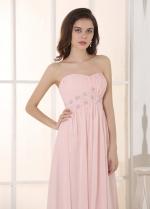 Romantic Chiffon Sweetheart Neckline A-Line Prom/ Bridesmaid Dresses
