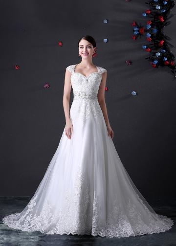 Princess Sweetheart Neckline A-line Wedding Dress