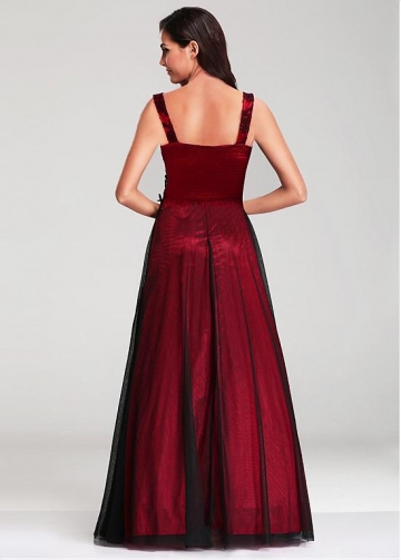 Stunning Square Neckline A-line Evening Dresses
