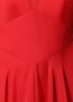 Glamorous Chiffon High Collar Neckline A-Line Prom Dresses
