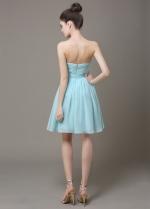 Lovely Chiffon Sweetheart Neckline Short A-line Bridesmaid Dress