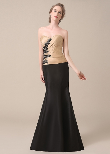 Chic Taffeta Sweetheart Neckline Mermaid Mother of The Bride Dresses