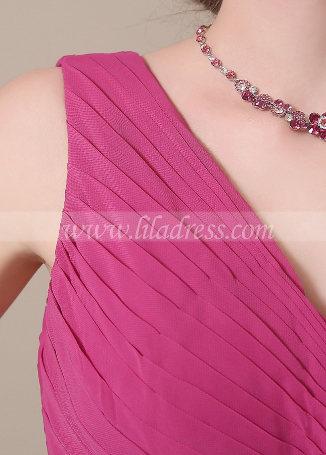 Elegant Chiffon V-neck Neckline Full-length A-line Mother of The Bride Dresses