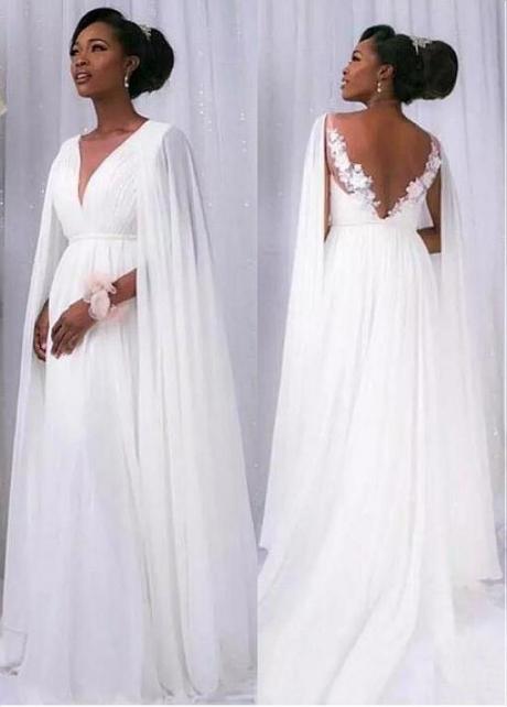 Amazing Tulle & Chiffon Jewel Neckline Raised Waistline A-line Wedding Dress With Beaded Lace Appliques