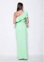 Elegant One-Shouldr Neckline Long Sheath Evening Dress