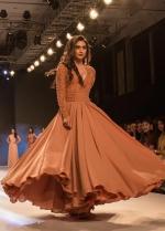 Krystle DSouza Long Sleeves Prom Dress bombay times fashion week 2018