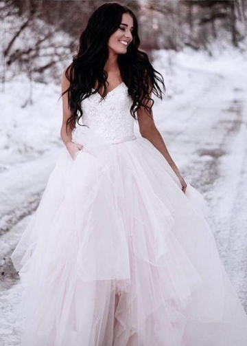 Lace and Tulle Bridal Wedding Dress Online Shop