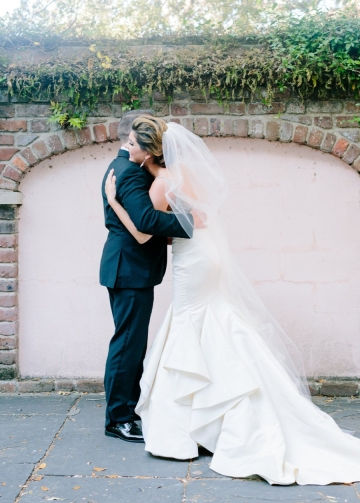 Ruffles Satin Mermaid Backless Wedding Dresses Under $500